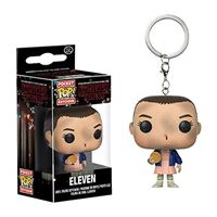 Funko Pop! Porta-Chaves Stranger Things: Eleven with Eggo