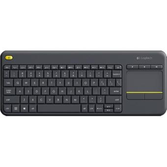 Logitech Teclado Wireless K400 Plus (Preto) (compatível com TV)