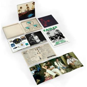 Hotel California - 40th Anniversary Deluxe Edition - 2CD + Blu-ray
