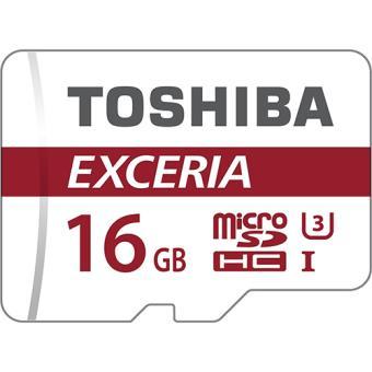 Cartão Memória MicroSD 16GB Toshiba Exceria THN-M302R0160EA