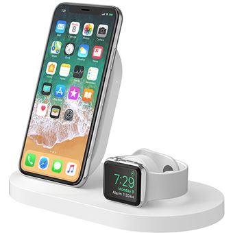 Base de Carregamento Belkin BOOST↑UP para Apple iPhone e Apple Watch - Branco