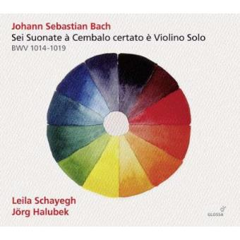 Bach | Sonatas for Violin & Harpsichord Nos. 1-6, BWV1014-1019 (2CD)