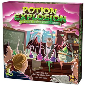 Potion Explosion - 2nd Edition - CMON