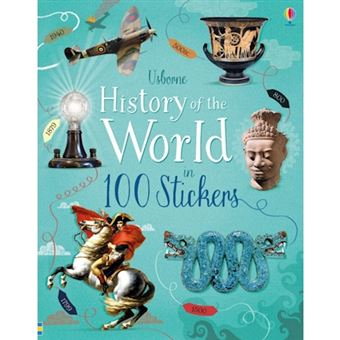 History of the world in 100 sticker