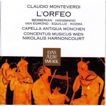 Monteverdi: L'Orfeo (2CD)
