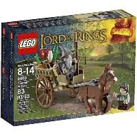 A Chegada de Gandalf (LEGO The Lord Of The Rings 9469)