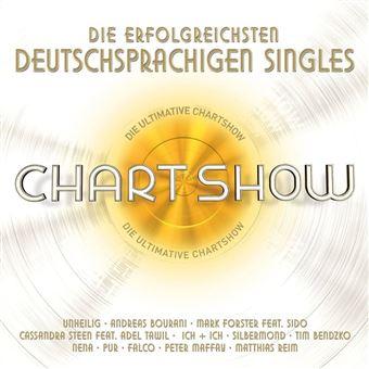 Die ultimative Chartshow - Die erfolgreichsten deutschen Singles - 3CD