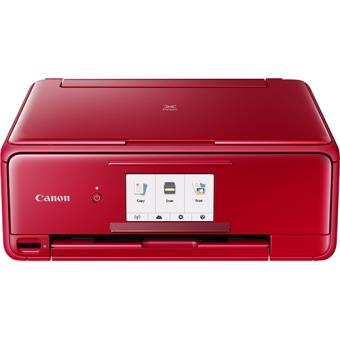 Impressora Canon Pixma TS8152 - Vermelho