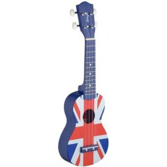 Ukulele Soprano Stagg US UK-FLAG
