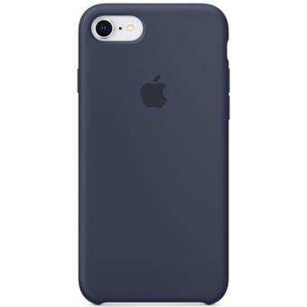Capa Silicone Apple para iPhone 8 | 7 - Azul Meia Noite
