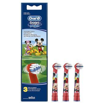 Recarga Escova Elétrica Oral-B Stages Power Kids 3x