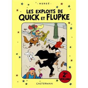 Les Exploits de Quick et Flupke (Intégrale) - Livre 2