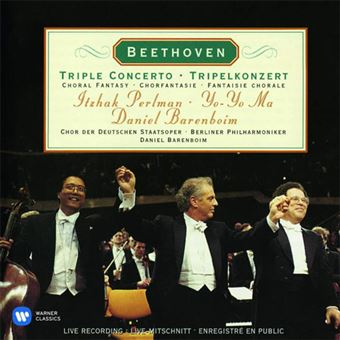Beethoven: Triple Concerto - CD