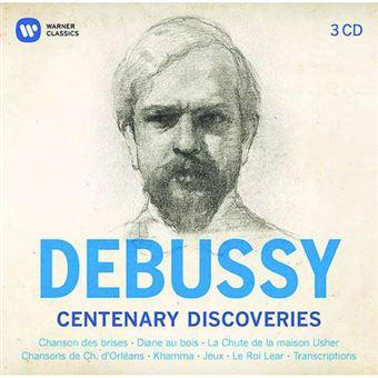 Debussy: Centenary Discoveries - 3CD