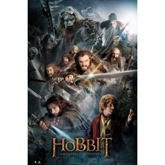 Hobbit - Poster Collage (91,5 x 61 cm)