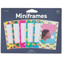 Moldura Magnética Miniframes Icons - 6 Unidades