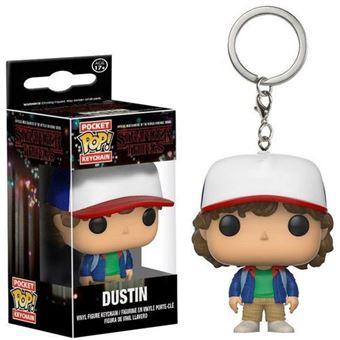Porta-Chaves Funko Pop! Stranger Things: Dustin