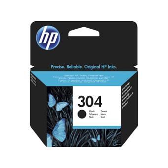 HP 304 4ml 120páginas Preto tinteiro