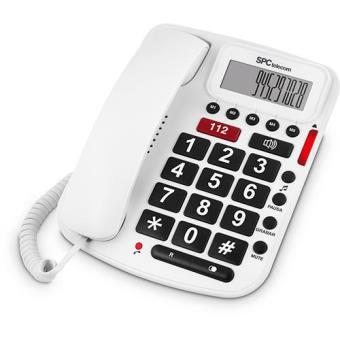 SPC Telefone Fixo Sénior 3293B (Branco)