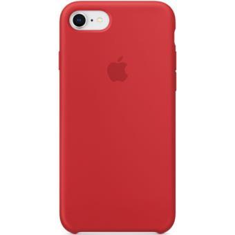 Capa Silicone Apple para iPhone 8 | 7 - Vermelho