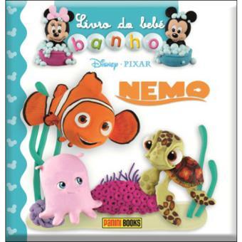 Livro do Bebé - Banho: Nemo
