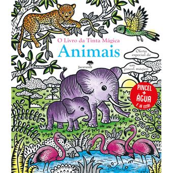 O Livro da Tinta Mágica: Animais