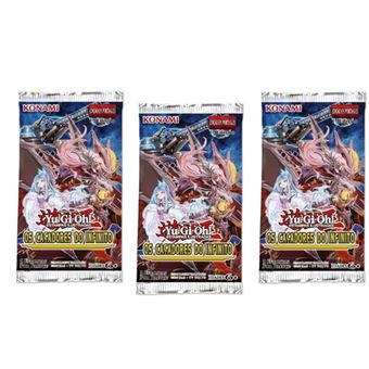 Yu-Gi-Oh! Os Caçadores do Infinito Blister 3 Booster