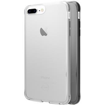 Capas It Skins Zero Gel 2 Pack para iPhone 6 Plus/6s Plus/7 Plus/8 Plus - Preto / Transparente