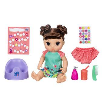 6cc78967c9 Baby Alive Hora de Fazer Chichi Morena - Hasbro - Bonecas - Compra ...