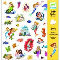 Sereias - 160 Autocolantes - Djeco