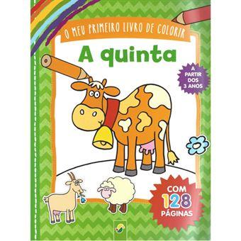 O Meu Primeiro Livro de Colorir - A Quinta