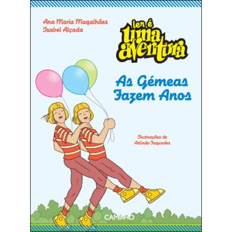 Ler é Uma Aventura - Livro 1: As Gémeas Fazem Anos