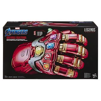 Réplica Marvel Legends: Luva Iron Man