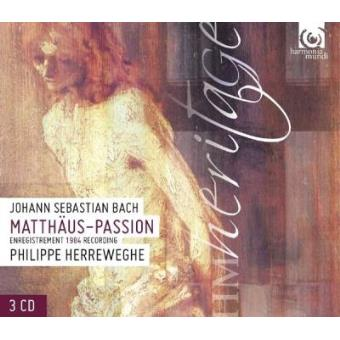 J.s.bach-st matthew passion (3CD)