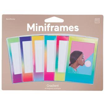 Moldura Magnética Miniframes Gradient - 6 Unidades