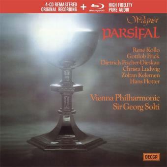 Wagner: Parsifal - 4CD + Blu-ray