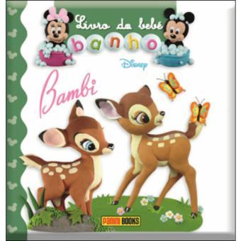 Livro do Bebé - Banho - Bambi