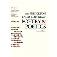 Princeton encyclopedia of poetry an