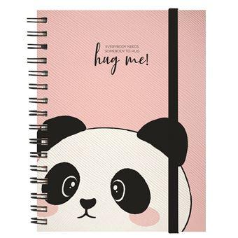 Caderno Legami A5 com Argolas Panda