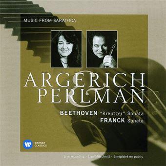 Beethoven: Kreutzer Sonata and Franck: Violin Sonata - CD