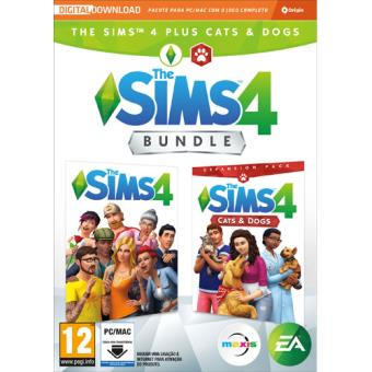 The Sims 4 + The Sims 4 Cats & Dogs Bundle - Code In A Box - PC