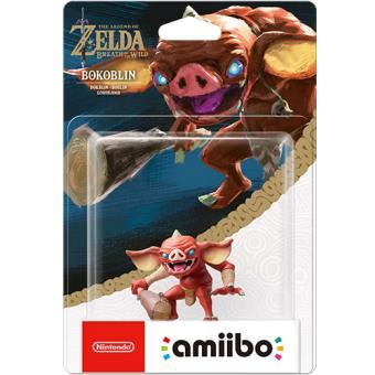 Amiibo The Legend of Zelda: Breath of the Wild - Figura Bokoblin