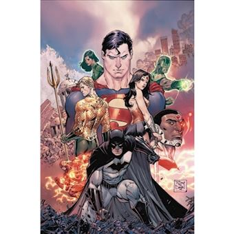 Justice league hc vol 1 & 2 deluxe
