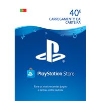 PSN Playstation Network Card 40€ - Cartão Digital