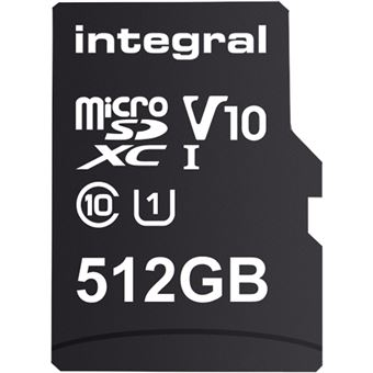 Cartão Memória Integral Memory INMSDX512G10-80SPTAB