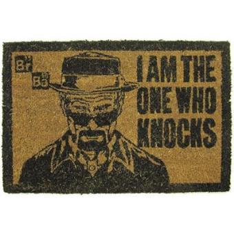 """Breaking Bad - Tapete de Porta Heisenberg """"I Am the One Who Knocks"""""""