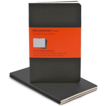 Moleskine: Caderno Pautado Bolso Preto