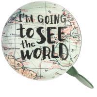 Campainha Para Bicicleta Legami - I'm Going to See The World