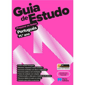 Guia de Estudo - Português 11º  Ano