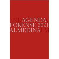 Agenda Forense 2021 Vermelha A5